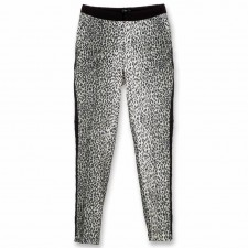 Mini animal print pantalon van Alix.